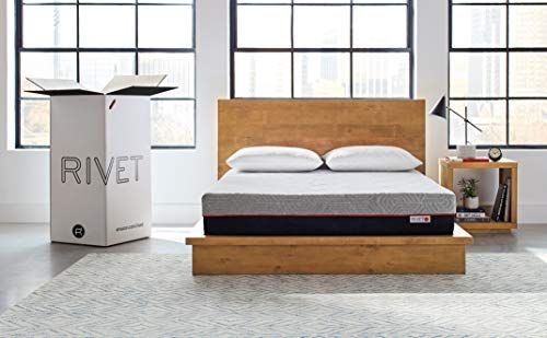 Rivet Full Mattress Celliant Cover Responsive 3 Layer Memory Foam For Support And Better Overnight Recovery Certi Box Bed Queen Mattress Best King Size Bed
