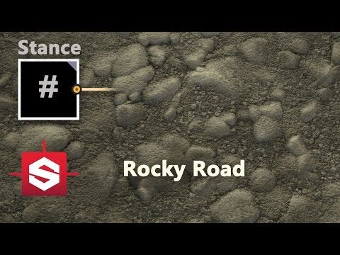 Rocky Road - Substance Designer Material - YouTube