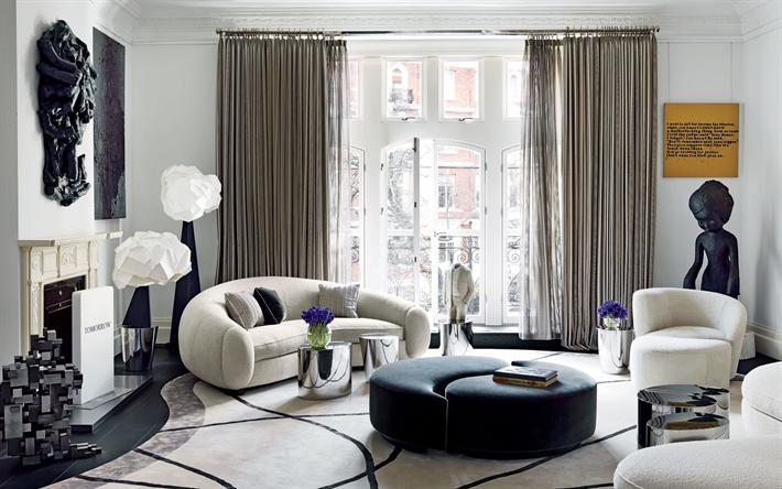 Soggiorno Camino ~ Scarica sfondi moderno ed elegante design degli interni soggiorno