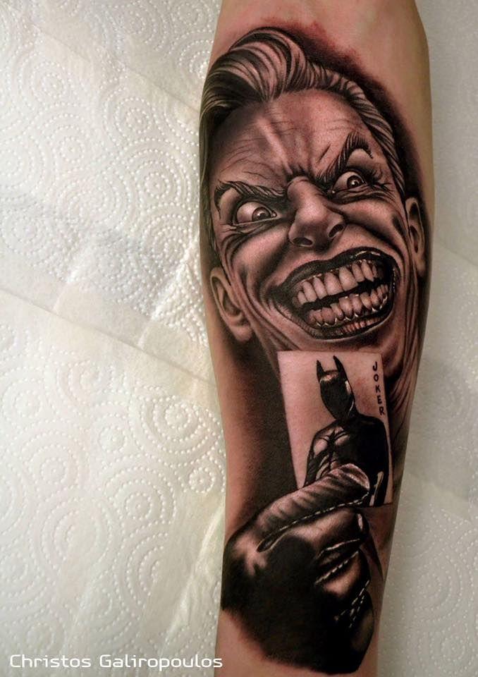 Joker Batman Tattoo Tatuaż Tatuaże I Pomysły Na Tatuaż