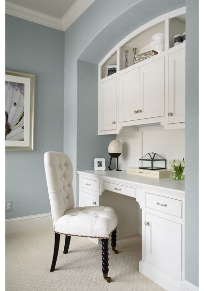 Summer Shower - BM Master bath color