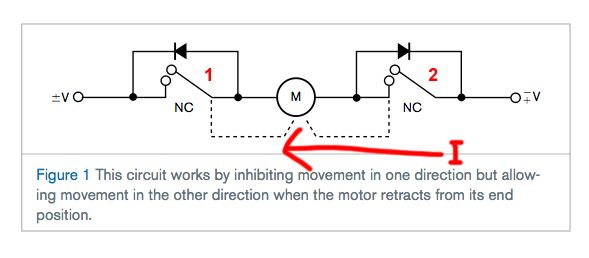 Unusual limit switch schematic ideas electrical circuit for Dc motor reversing circuit with limit switches