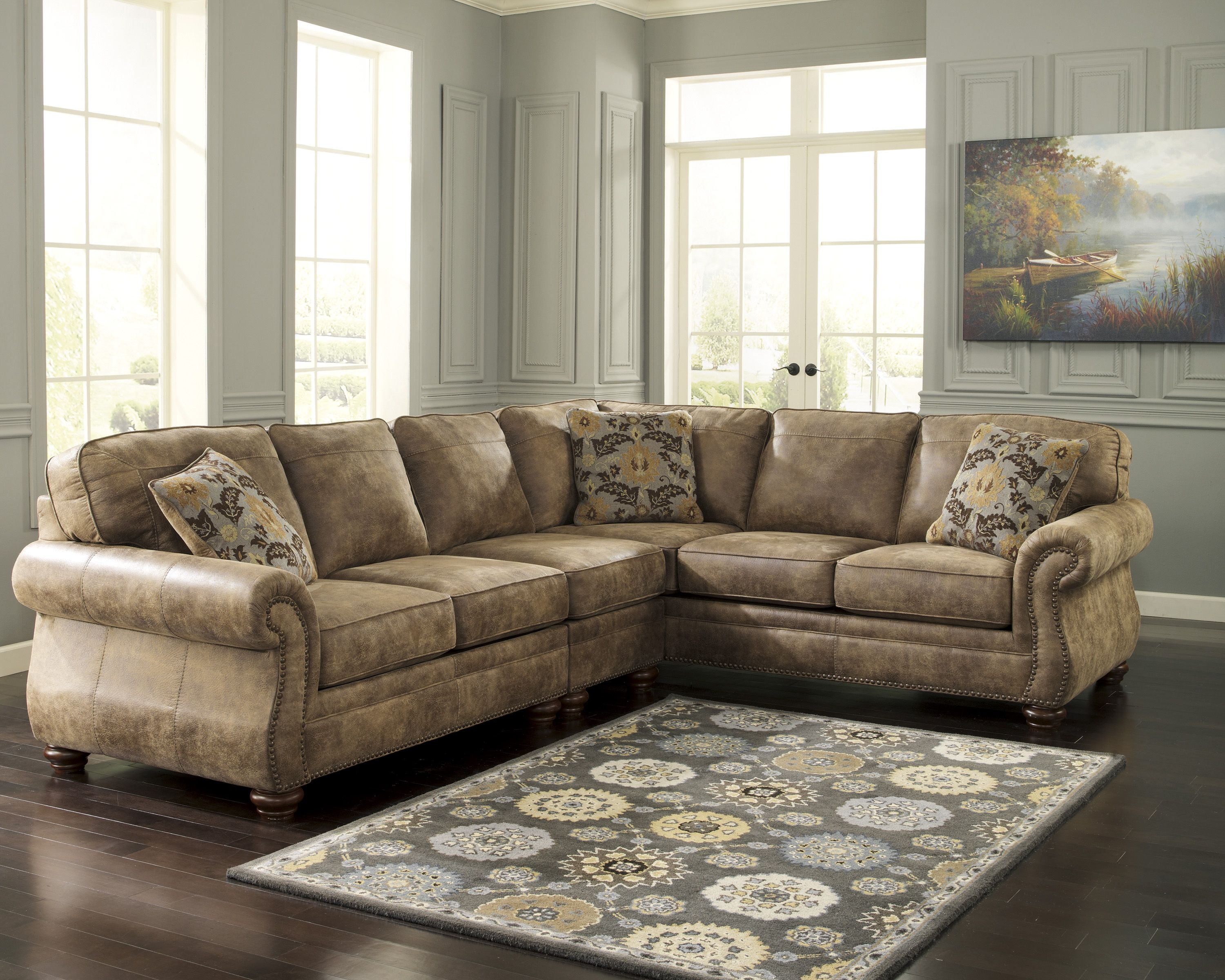 Ashley 319 Living Room Furniture Layout Living Room Sectional Furniture Layout