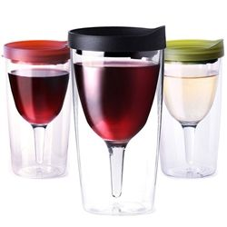 Adult sippy cups. Better than glass.