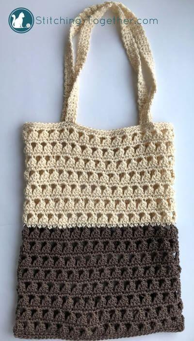 Meet Me At The Market Crochet Grocery Bag Pinterest Free Crochet