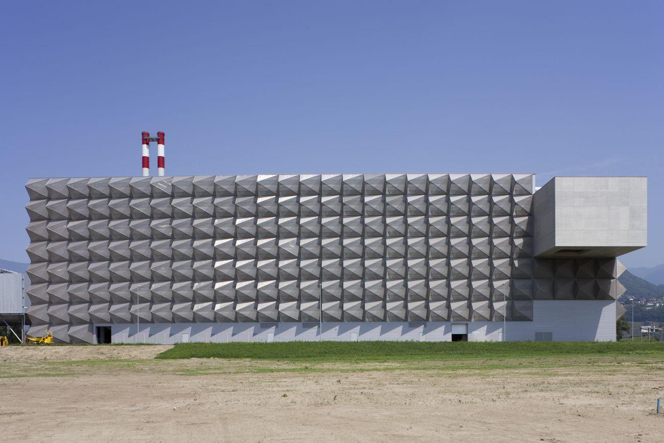 LIVIO VACCHINI | Incinerator-Powerplant | Giubiasco | Swiss