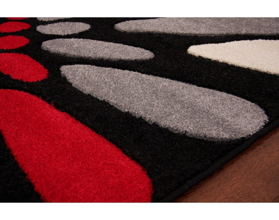 Lovely White Red Black And Grey Rugs   Google Search