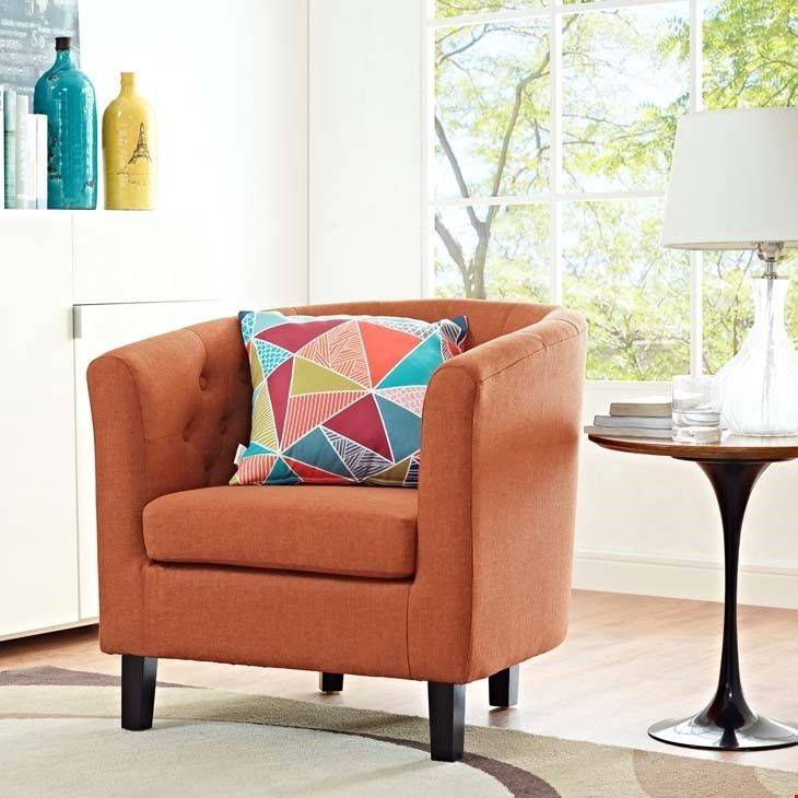Modway Furniture Modern Prospect Upholstered Armchair ...