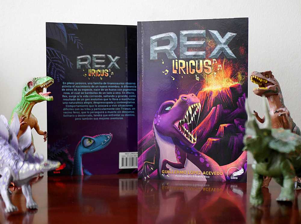 Rex Liricus On Behance Libroinfantil Book Cover Rex Books