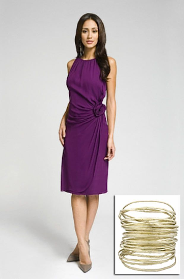 Purple Dress For Wedding Guest