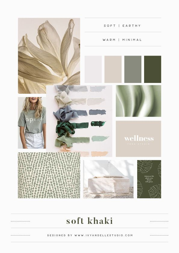Looking for branding inspiration? This blog post provides 10 colour palettes you can use for your own brand style guide, branding inspiration and branding ideas by Ivy and Elle Studio #branding #moodboard