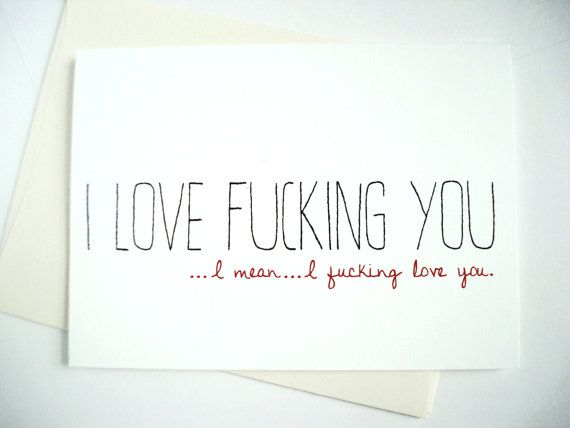 Adult love cards