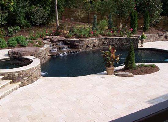 Our Work Huston Pools Inc Pool Design Builder Pool Designs