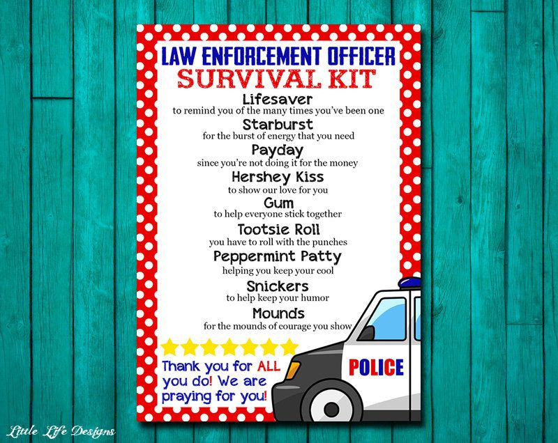 Law Enforcement Gifts. Police Gift Idea. Gift for Police