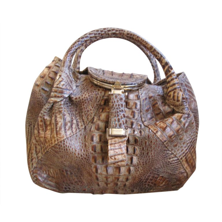 0c71b632a2ce 1stdibs - Fendi genuine Alligator Spy bag Limited edition explore items  from 1