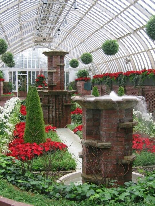 Phipps Conservatory Christmas 2019.Phipps Conservatory Kac Phipps Conservatory Pittsburgh Pa