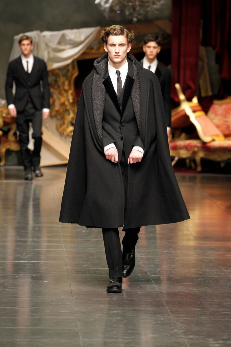 0f0fdb7bd475 Cocoa Butter  DOLCE   GABBANA WINTER 2013 MEN S COLLECTION
