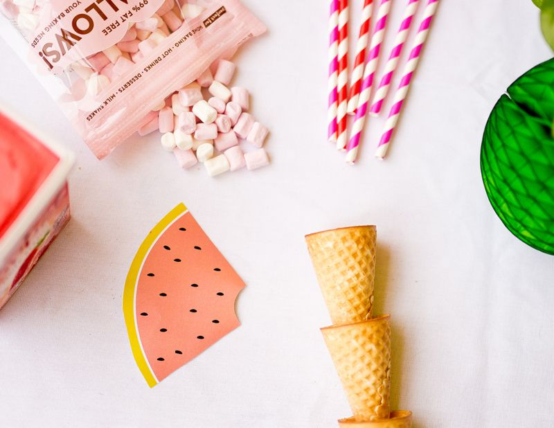 Lily's 9th Birthday - 'One in a Melon' Watermelon theme | HOORAY! Mag