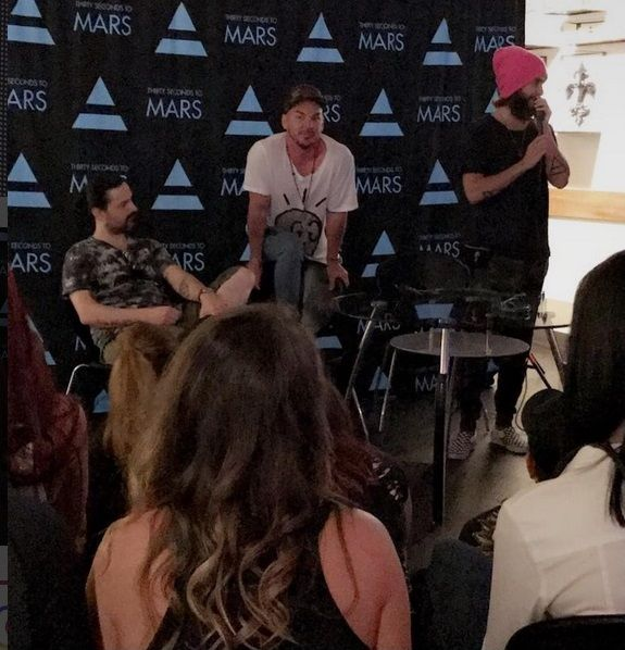 30 seconds to mars 08062017 new orleans meet greet jared leto 30 seconds to mars 08062017 new orleans meet greet m4hsunfo