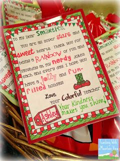 Holiday Gifts For Students Crafts Student Christmas