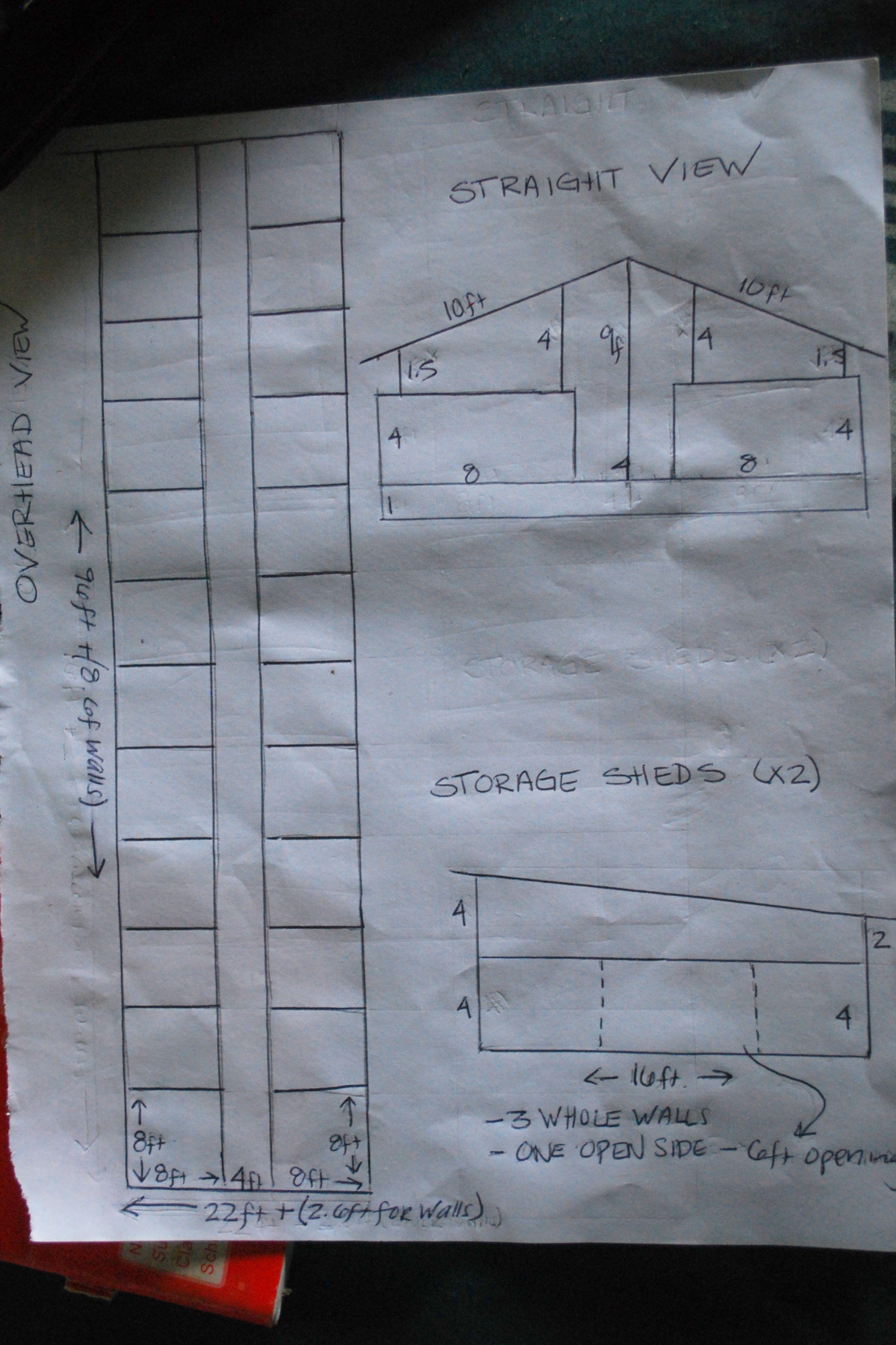 Piggery House Floor Plan Photo Home Design Farm Design Pig Farming Design
