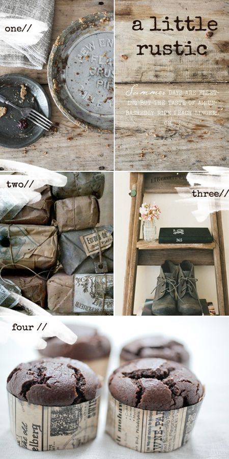 I do love texture, so very much. Here are a few lovely textured, rustic images I have seen recently. Sorry for the lack of blogging lately, been a bit tied up with a huge pile of work and wedding p...