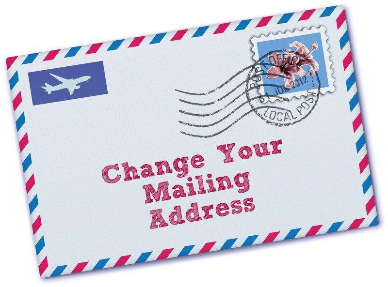 Pin by Jennifer Brown on House stuff Pinterest Mailing address - print change of address form