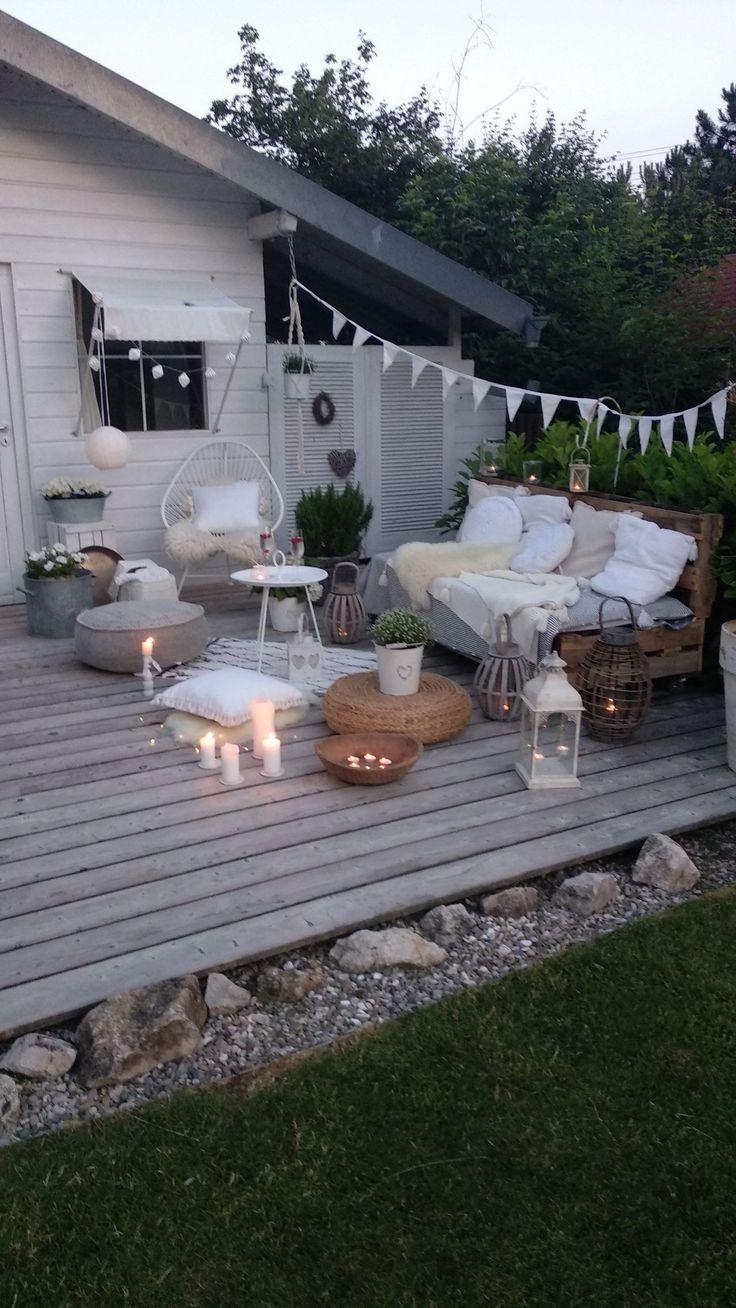 Terrasse - Garten ideen #terraceapartments