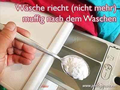 Wäsche Riecht Nach Waschen Muffig