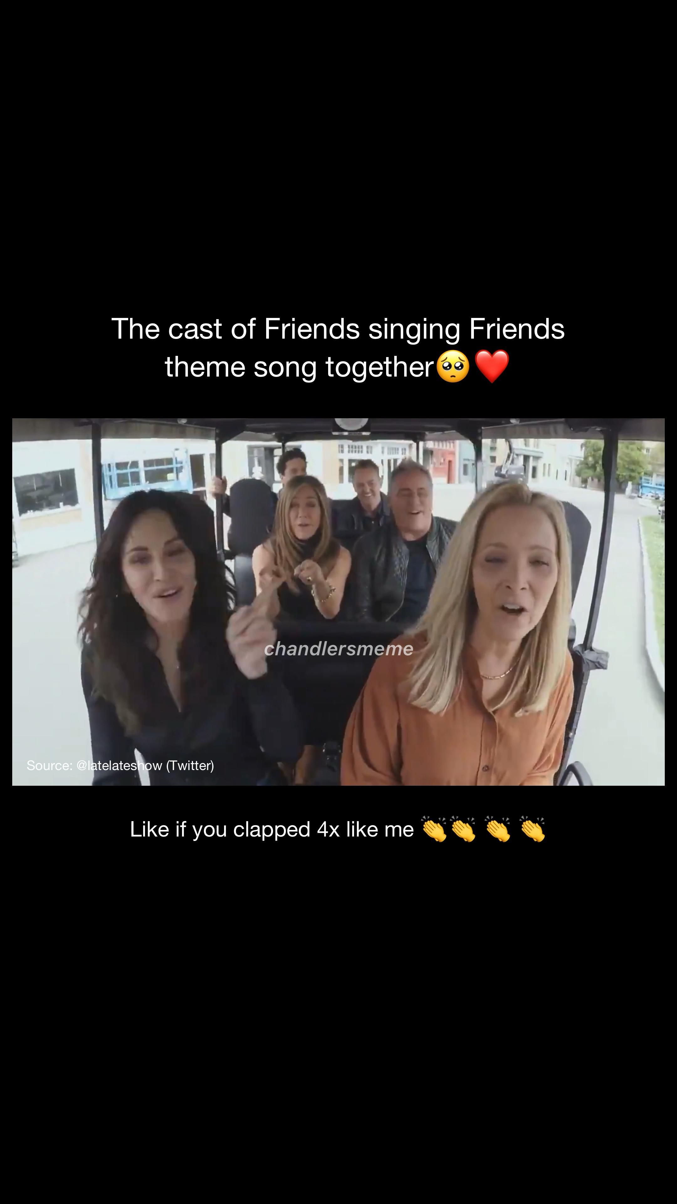 Friends Reunion I Ll Be There For You Video In 2021 Friends Funny Moments Friends Best Moments Friends Moments