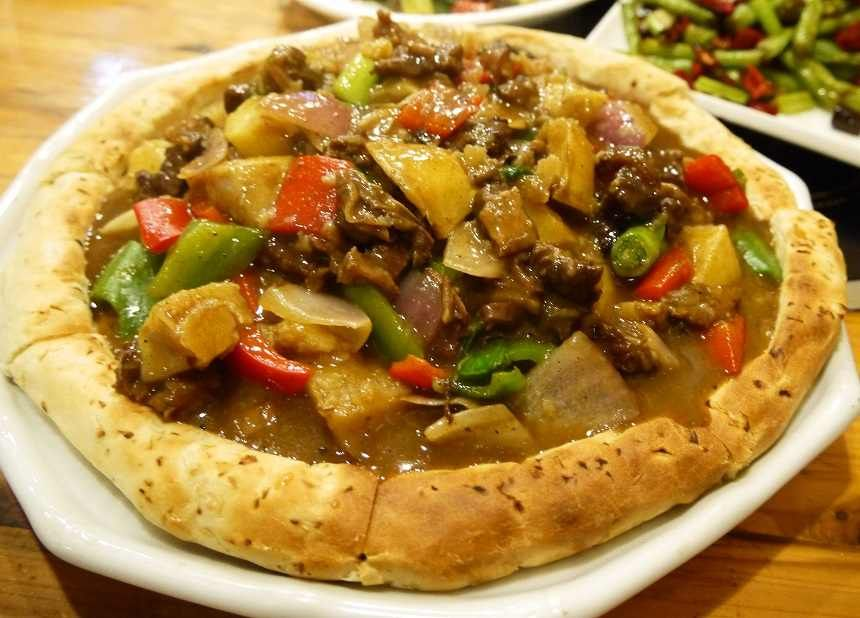 Guiyang Guizhou Muslim Halal Naan Beef Food Halal Snacks