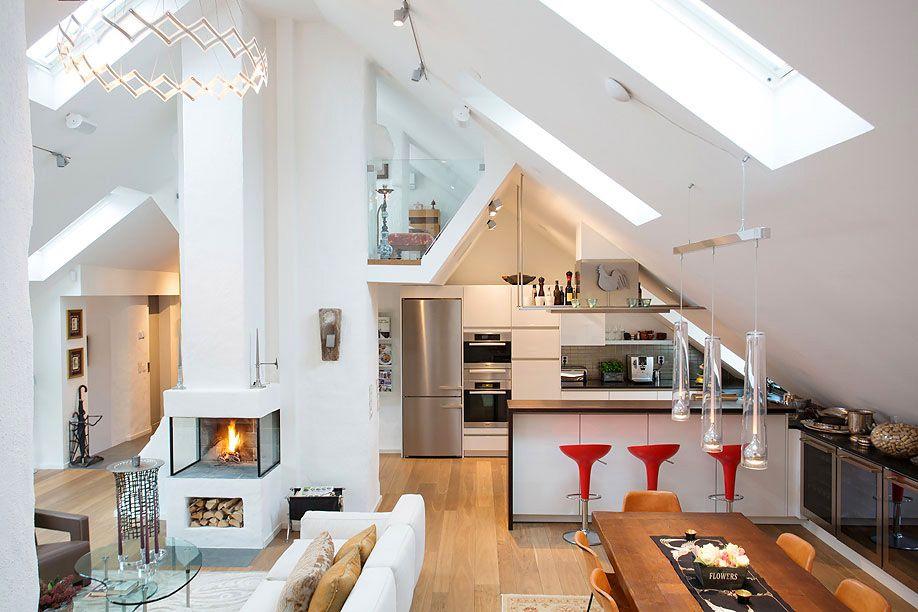 sloped ceiling apartment - Google zoeken
