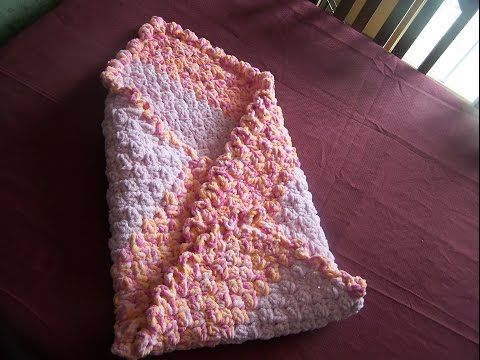 video 1 crochet easy heavenly baby blanket - YouTube | Crocheting ...