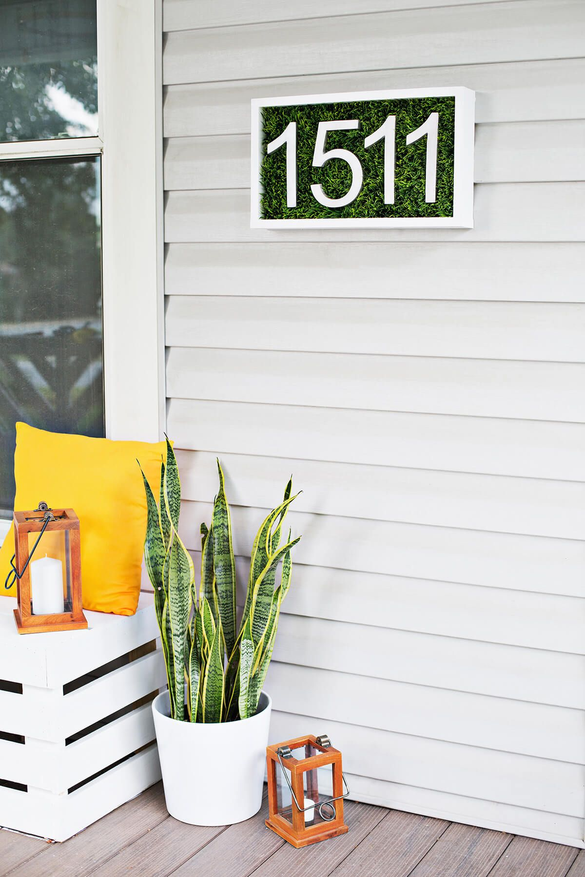 33 Unique House Number Ideas that are Easy to Create | Home ...