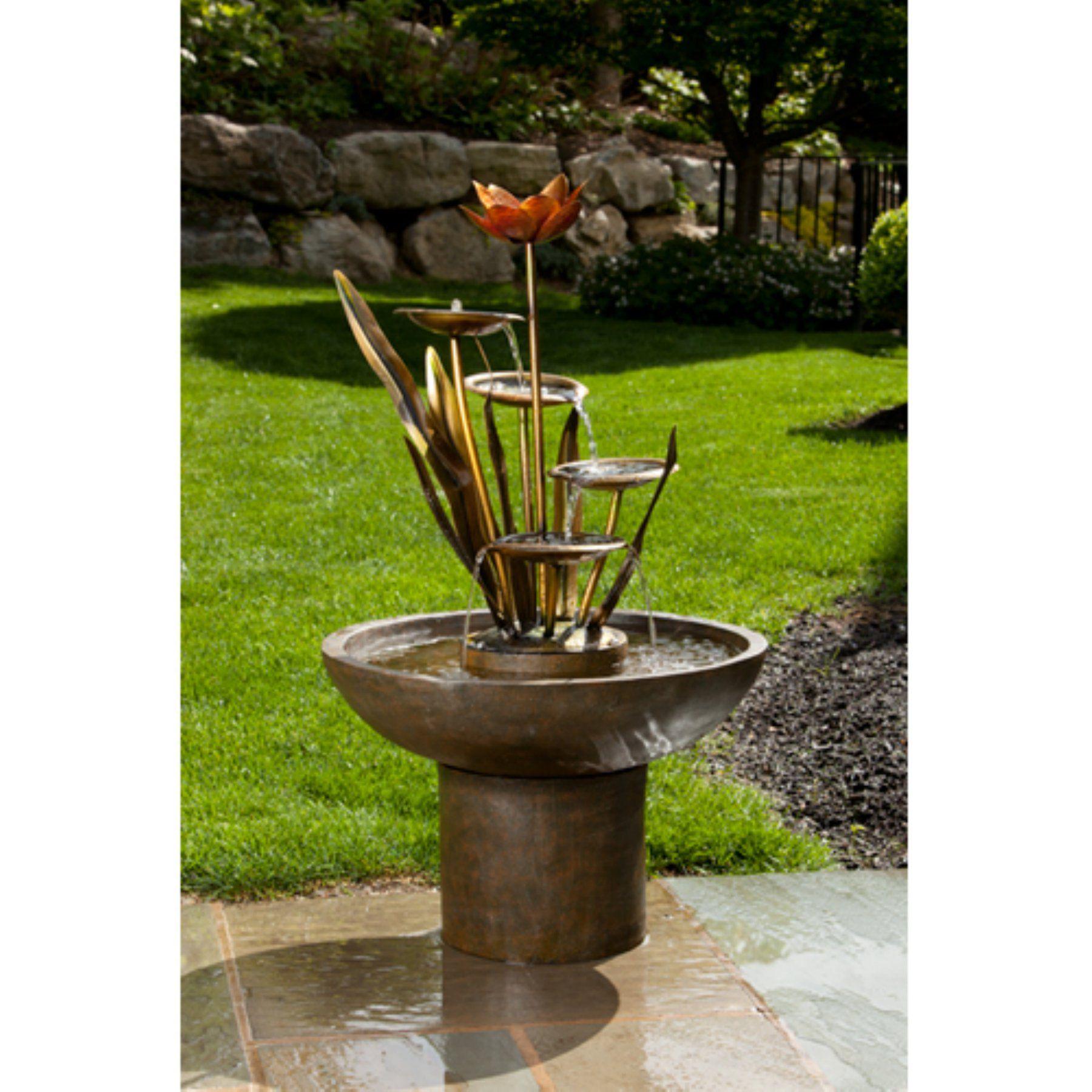 Alfresco Home Laghetto Outdoor Fountain - 74-8314