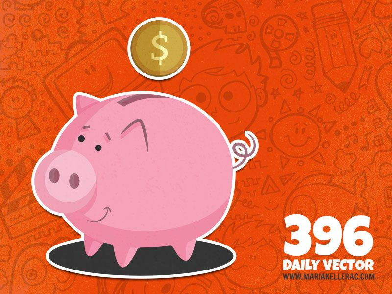 396 - Piggy bank (To see them all click on the image)