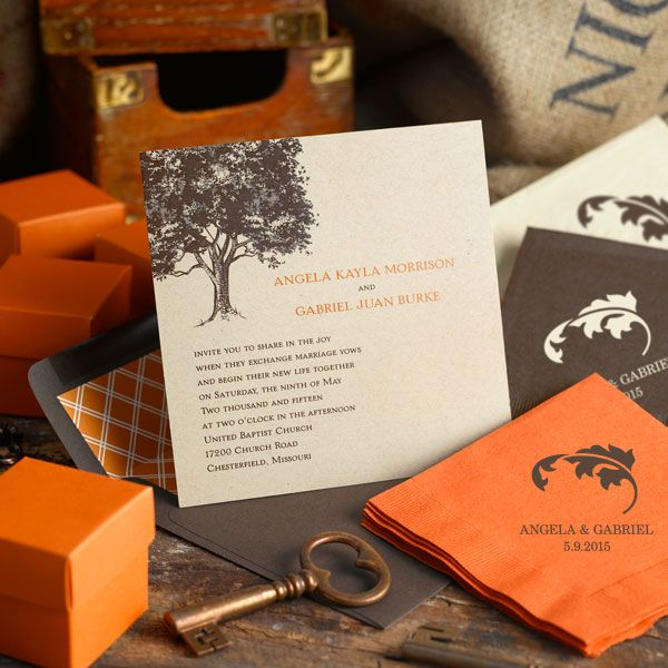 17 Best images about Fall Wedding – Fall Invitations for Weddings