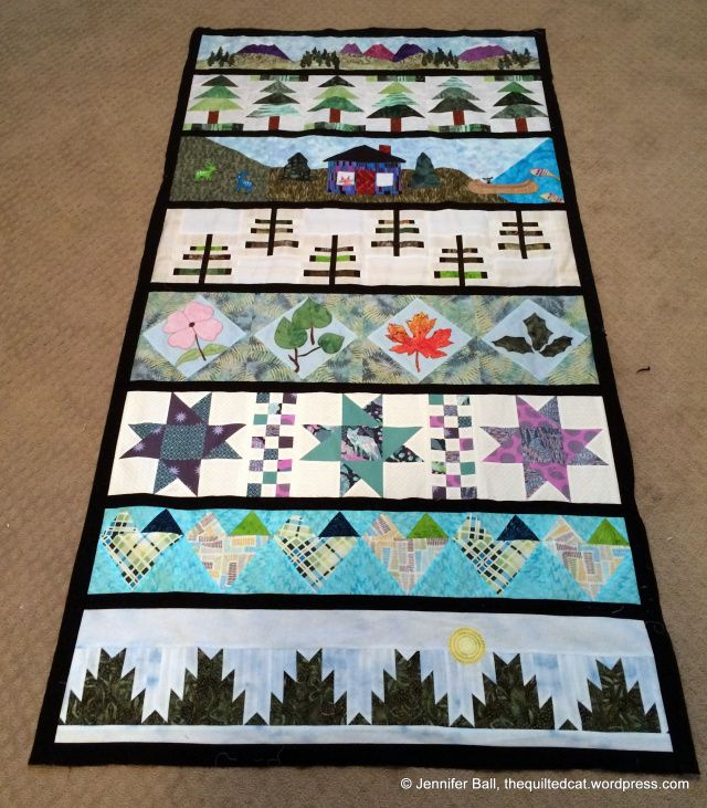 Row by Row Winner + Vancouver Island | Quilt batting, Pine needles ... : quilting supplies vancouver - Adamdwight.com
