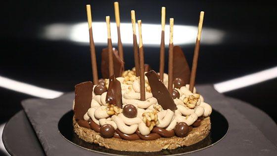 gâteau d'anniversaire au chocolat, par christophe michalak