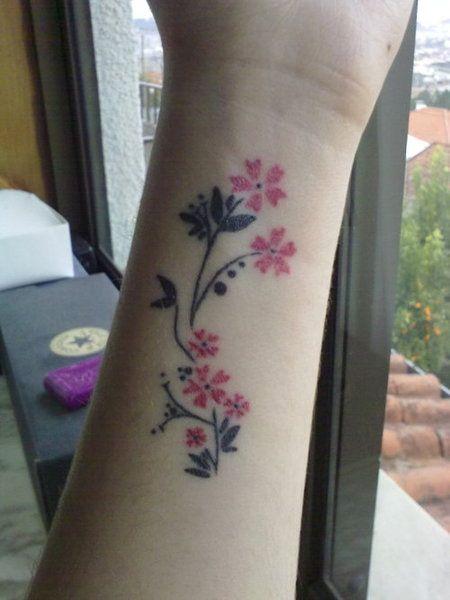 Significado De Los Tatuajes De La Flor De Cerezo O Sakura Tatto
