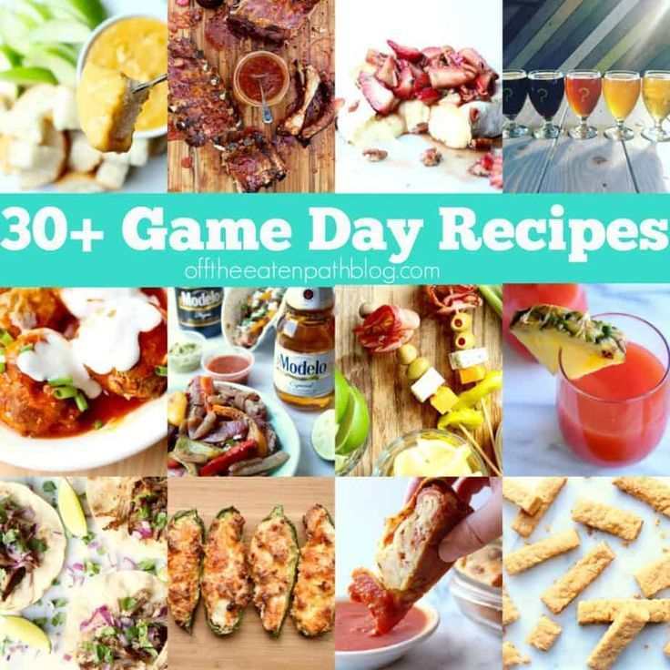 37 game day recipes the whole team will love