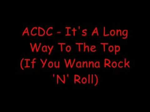 To Top Acdc The It's A Long Of Way LyricsGods Music UzpMVqSGL