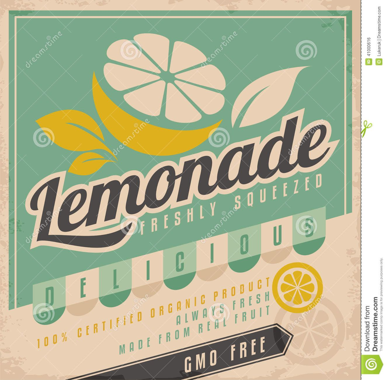 Vintage Lemonade Sign | Design Loves | Pinterest