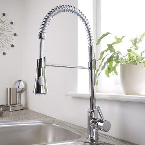 Küche Wasserhahn Mit Pull Down Sprayer Überprüfen Sie mehr unter