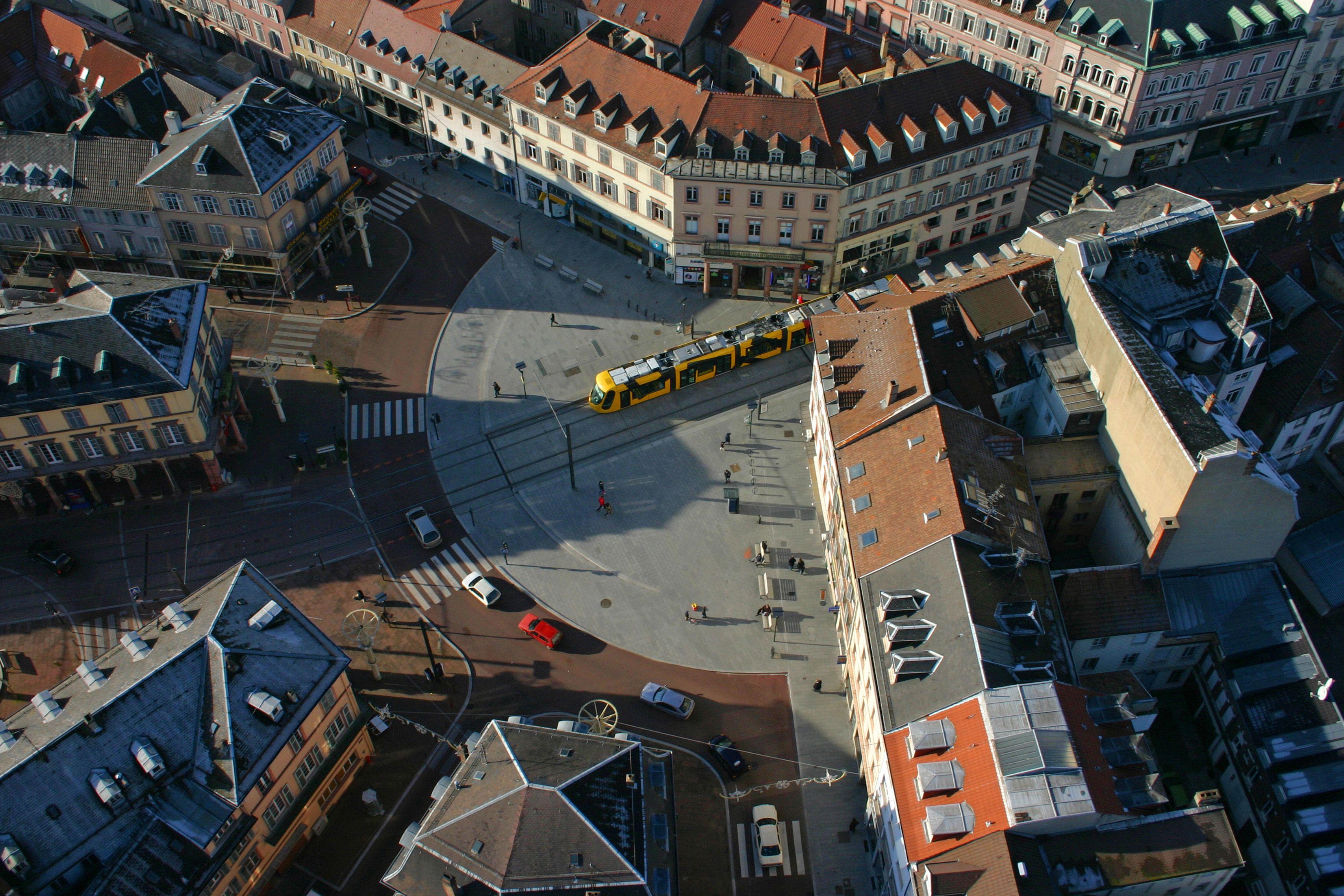 ballo de photos projet insertion urbaine du tram train de mulhouse projet laur at du. Black Bedroom Furniture Sets. Home Design Ideas