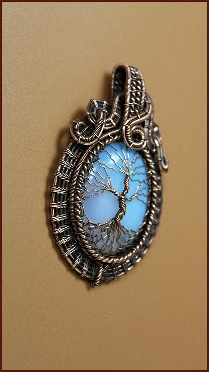 Photo of Hacks  #wrapped #pendant moon wire wrapped pendant, teardrop wire wrap pendant, …