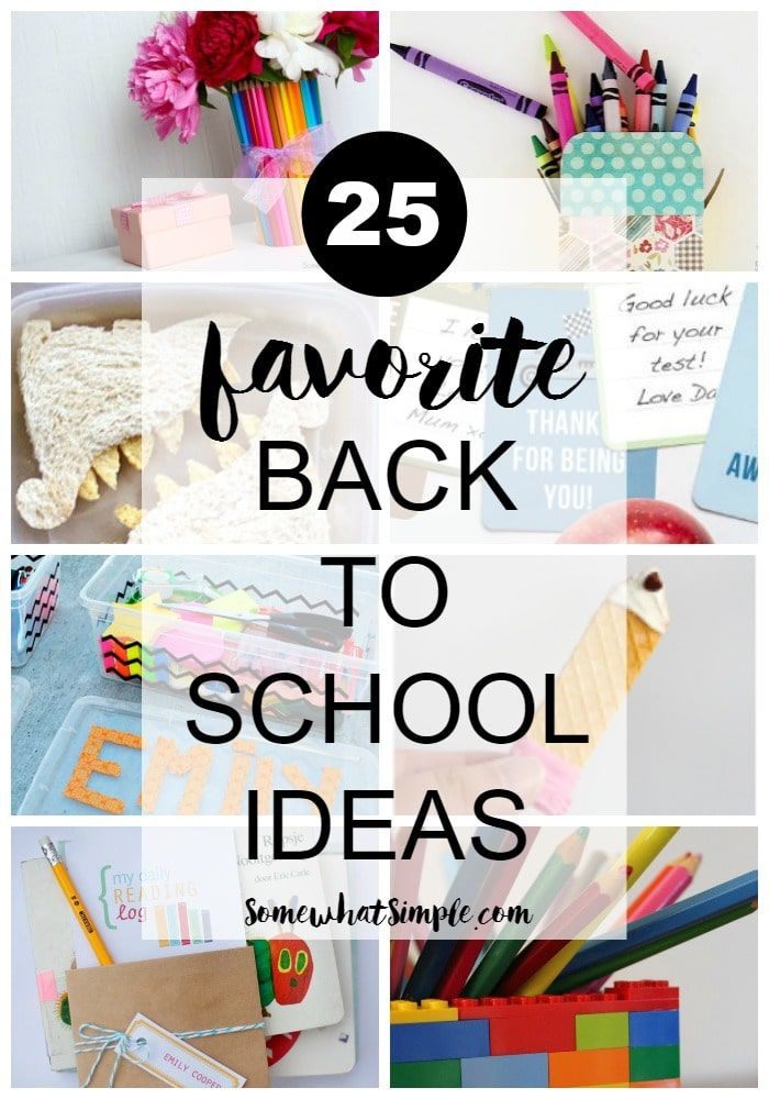 25 creative back to school ideas on somewhat simple