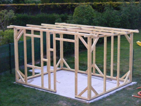 construction de mon abri de jardin | Plan abris de jardin ...