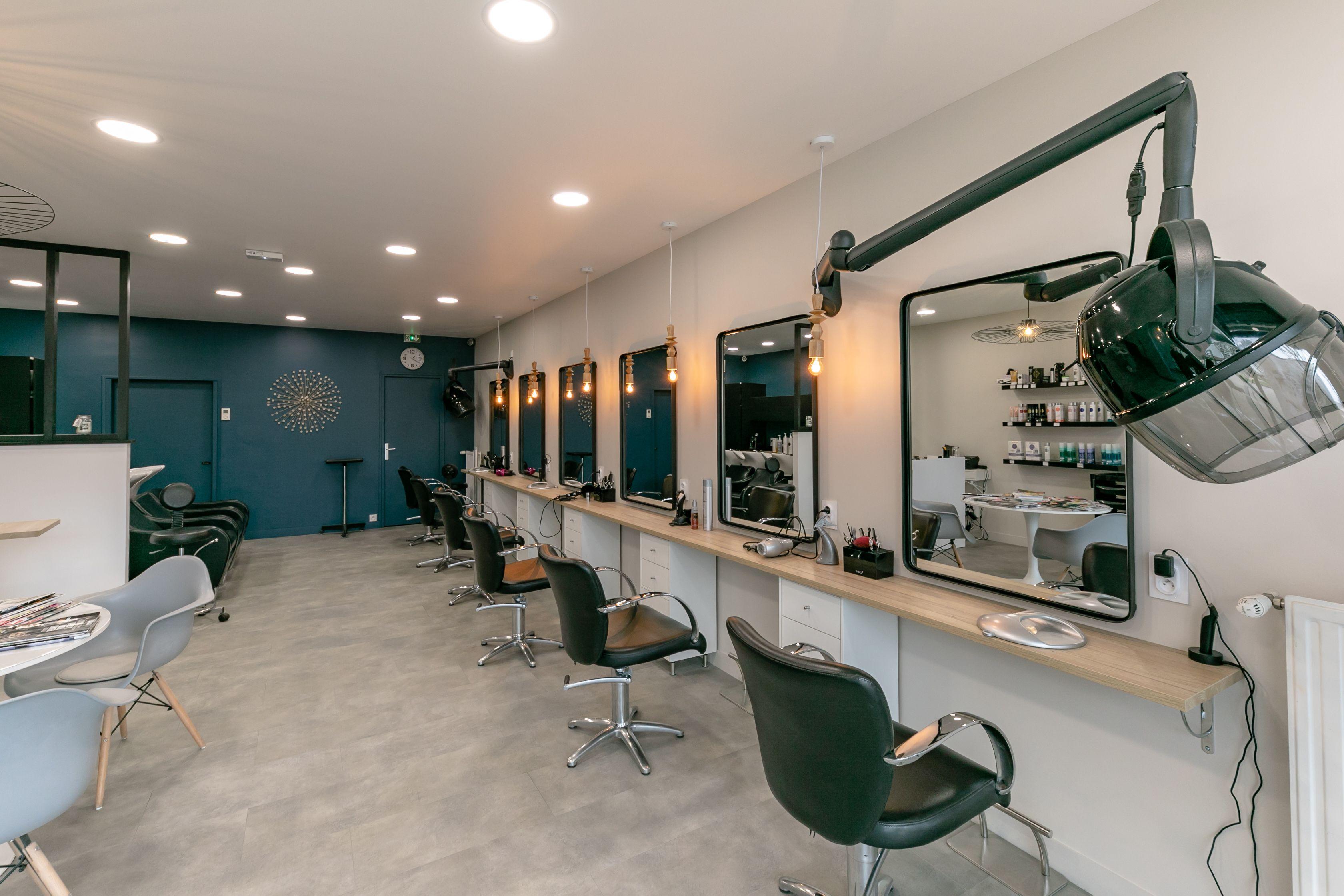 Photo Meuble Miroir Salon De Coiffure