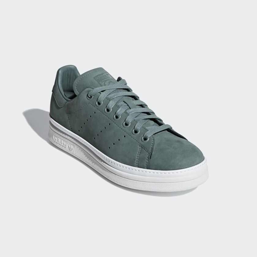 Stan Smith New Bold Shoes Raw Green